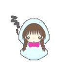 ミニてる女子(個別スタンプ:01)
