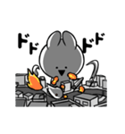 すこぶる動くクレイジーウサギ(個別スタンプ:08)