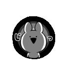 すこぶる動くクレイジーウサギ(個別スタンプ:13)