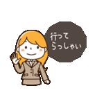スーツ女子♡挨拶・ひとこと(個別スタンプ:06)