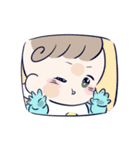 ふんわり♡赤ちゃんスタンプ(個別スタンプ:40)