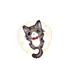 きじとら猫 ふうちゃんの日常(個別スタンプ:03)