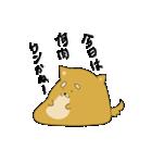 ハチタロウ、ワンよ~!(個別スタンプ:05)