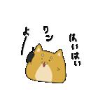 ハチタロウ、ワンよ~!(個別スタンプ:09)