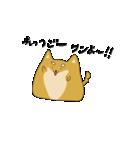 ハチタロウ、ワンよ~!(個別スタンプ:36)