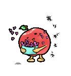 赤くておいしいリンゴスタンプ(個別スタンプ:03)