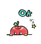 赤くておいしいリンゴスタンプ(個別スタンプ:07)