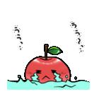 赤くておいしいリンゴスタンプ(個別スタンプ:09)