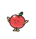 赤くておいしいリンゴスタンプ(個別スタンプ:17)