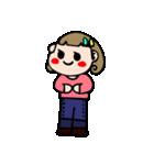 ジーンズちゃんのカラフルライフ(個別スタンプ:01)