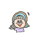 honest girl♡(個別スタンプ:03)