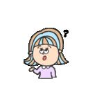 honest girl♡(個別スタンプ:14)