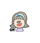 honest girl♡(個別スタンプ:16)