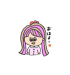 honest girl♡(個別スタンプ:17)