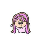 honest girl♡(個別スタンプ:18)