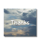 空のココロ【たくさんのありがとう】(個別スタンプ:12)