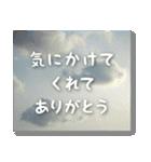 空のココロ【たくさんのありがとう】(個別スタンプ:13)