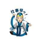 ジェダイトキャラクターズ(個別スタンプ:16)