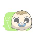 飛び出す赤ちゃん(個別スタンプ:01)