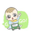 飛び出す赤ちゃん(個別スタンプ:02)