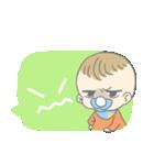 飛び出す赤ちゃん(個別スタンプ:03)