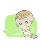 飛び出す赤ちゃん(個別スタンプ:08)