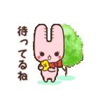 旅行が好きなウサギちゃん♪毎日の会話に♡(個別スタンプ:34)