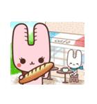 旅行が好きなウサギちゃん♪毎日の会話に♡(個別スタンプ:38)