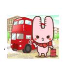 旅行が好きなウサギちゃん♪毎日の会話に♡(個別スタンプ:39)