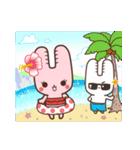 旅行が好きなウサギちゃん♪毎日の会話に♡(個別スタンプ:40)