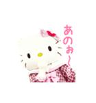 動く!サンリオキャラクターズ【実写版】(個別スタンプ:14)