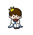 王子様スタンプ(ベーシック)(個別スタンプ:16)