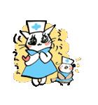猫ナースとすずめのお見舞い(個別スタンプ:03)