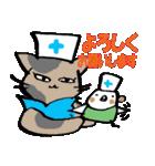 猫ナースとすずめのお見舞い(個別スタンプ:31)