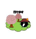 桜-帽子をかぶったウニ(個別スタンプ:20)