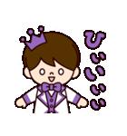Jオタクのための王子様スタンプ(紫色)(個別スタンプ:10)