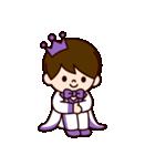 Jオタクのための王子様スタンプ(紫色)(個別スタンプ:16)