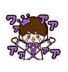 Jオタクのための王子様スタンプ(紫色)(個別スタンプ:18)
