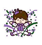 Jオタクのための王子様スタンプ(紫色)(個別スタンプ:23)