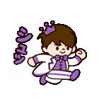Jオタクのための王子様スタンプ(紫色)(個別スタンプ:24)