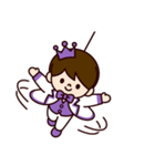 Jオタクのための王子様スタンプ(紫色)(個別スタンプ:26)