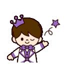 Jオタクのための王子様スタンプ(紫色)(個別スタンプ:27)