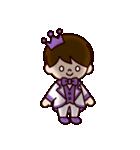 Jオタクのための王子様スタンプ(紫色)(個別スタンプ:28)
