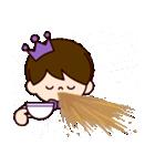 Jオタクのための王子様スタンプ(紫色)(個別スタンプ:33)