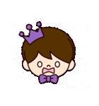 Jオタクのための王子様スタンプ(紫色)(個別スタンプ:38)