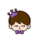 Jオタクのための王子様スタンプ(紫色)(個別スタンプ:39)