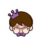 Jオタクのための王子様スタンプ(紫色)(個別スタンプ:40)