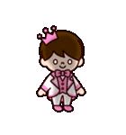 ピンクの王子様スタンプ(個別スタンプ:28)