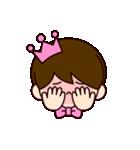 ピンクの王子様スタンプ(個別スタンプ:40)