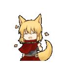 獣耳キャラクタースタンプ(個別スタンプ:01)